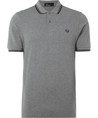 Fred Perry Poloshirt mit Kontrastdetails
