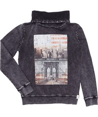 Review for Teens Sweatshirt mit Tube Collar und Print