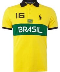 Polo Ralph Lauren Custom Fit Poloshirt mit Brasilien-Prints
