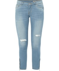 REVIEW Ankle Cut Jeans im Destroyed Look
