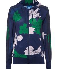adidas Originals Sweatjacke mit Kapuze und floralem Muster