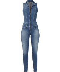 Guess Jumpsuit aus Stone Washed Denim