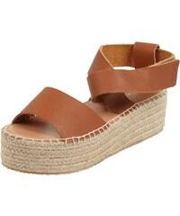 Marc O´Polo Sandalen aus echtem Leder mit Plateausohle