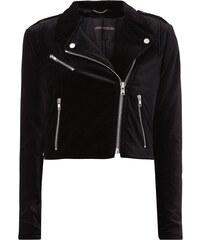 Drykorn Biker-Jacke aus Samt
