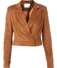 Supertrash Blazer in Velourslederoptik