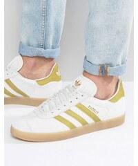 adidas Originals - Gazelle BB5495 - Baskets - Blanc - Blanc