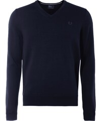 Fred Perry Pullover aus reiner Wolle