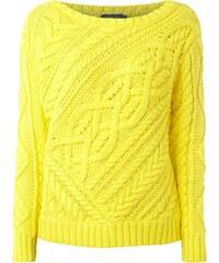 Polo Ralph Lauren Strickpullover aus Baumwolle mit Zopfstrick
