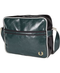 Fred Perry Messenger Bag in Leder-Optik