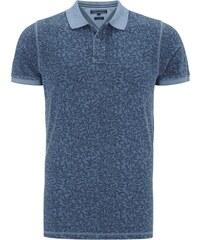 Tommy Hilfiger Slim Fit Poloshirt mit botanischem Muster