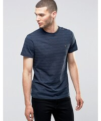 Farah - T-shirt à pois coupe ajustée - Marine - Bleu marine