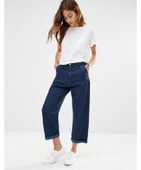 G-Star - Pantalon chino en jean décontracté - Bleu