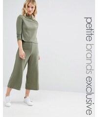 Noisy May Petite - Jupe-culotte ample en jersey - Ensemble - Vert