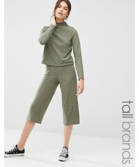 Noisy May Tall - Ensemble jupe-culotte ample en jersey - Vert
