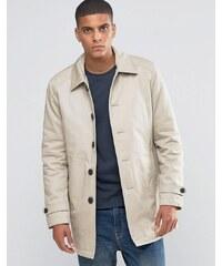 Selected Homme - Regenmantel aus Baumwolle - Beige