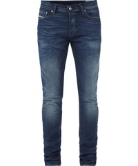 Diesel Double Stone Washed Slim-Carrot Fit Jeans