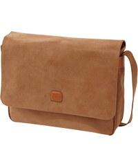 Brics Messenger Bag mit Lederbesatz
