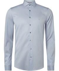 Calvin Klein Slim Fit Business-Hemd mit Haifischkragen