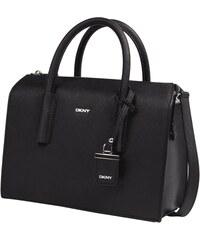 DKNY Bowling Bag aus Leder mit Saffianostruktur
