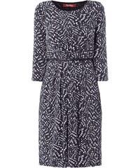 Max Mara Studio Kleid mit Taillengürtel aus Leder