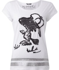 Princess Goes Hollywood T-Shirt mit Snoopy-Motiv aus Pailletten
