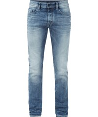 Diesel Stone Washed Regular Slim-Tapered Fit Jeans