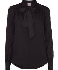 Vero Moda Blusenshirt mit Schluppe zum Binden