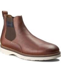 Kotníková obuv s elastickým prvkem GANT - Huck 13651583 Cognac G45