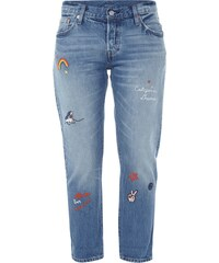 LEVIS 300 501 ® CT Tapered Fit 5-Pocket-Jeans im Light Used Look