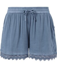 Tom Tailor Denim Shorts mit Häkelspitze
