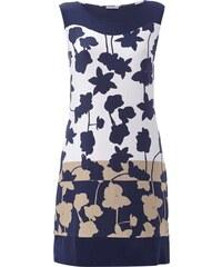 Montego Kleid mit floralem Muster und Streifendetails