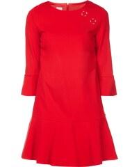 Pinko Kleid mit Zierösen im Schulterbereich