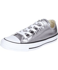 Converse Sneaker aus Canvas in Metallicoptik