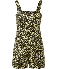 Boutique Moschino Jumpsuit mit Animal-Print und Knopfleiste