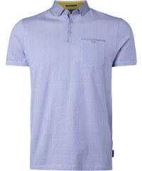 Ted Baker Poloshirt mit Button-Down-Kragen