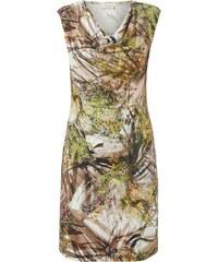 Apanage Kleid mit Drapierung und floralem Muster