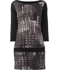 Montego Jerseykleid mit Punkte-Muster