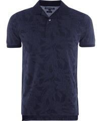 Tommy Hilfiger Slim Fit Poloshirt mit floralem Muster