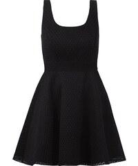 Pinko Kleid mit Lochmuster und Mesheinsatz