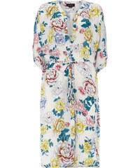 Minkpink Kimono mit Pfingstrosen-Muster
