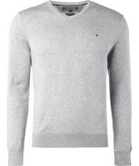Tommy Hilfiger Pullover aus Baumwoll-Seide-Mix