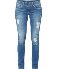 Pepe Jeans Destroyed Slim Fit Jeans mit Stretch-Anteil