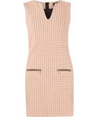 Juicy Couture Jerseykleid mit Houndstooth Jacquard