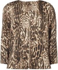 Marc Cain Collections Blazer mit Leoparden-Print