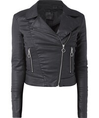 Guess Biker-Jacke aus Coated Denim
