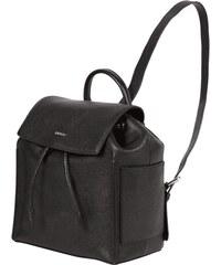 DKNY Rucksack aus echtem Leder mit Zugverschluss