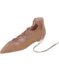 Pretty Ballerinas Schnürschuh mit Lochmuster