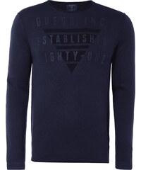 Guess Pullover mit gummiertem Logo-Print