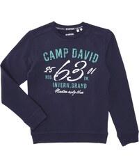Camp David Sweatshirt mit großem Logo-Print