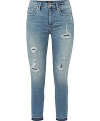 Juicy Couture Skinny Fit Jeans im Destroyed Look